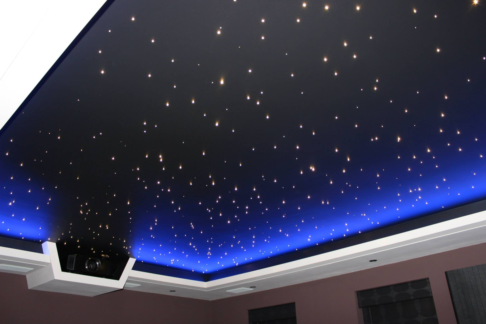 Stars bedroom ceiling